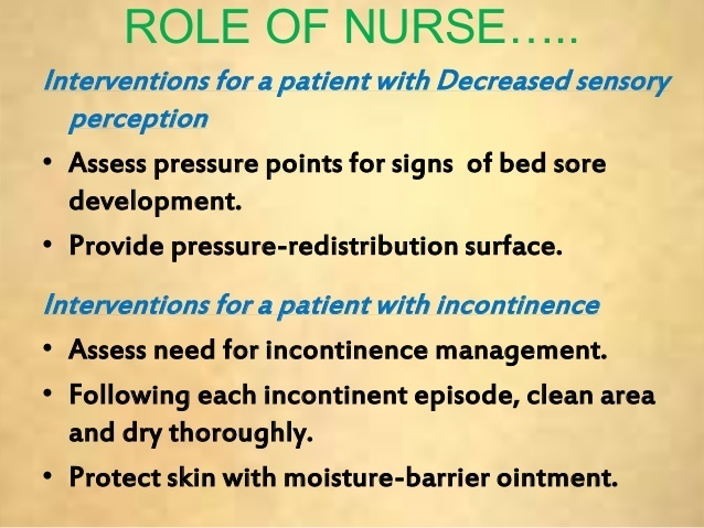 a nurse is caring for a patient who has developed a stage i pressure ulcer-0