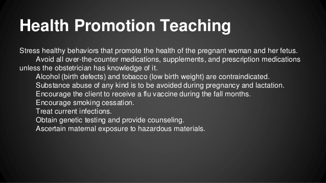 a nurse is teaching a client who is at 10 weeks of gestation about nutrition during pregnancy-0