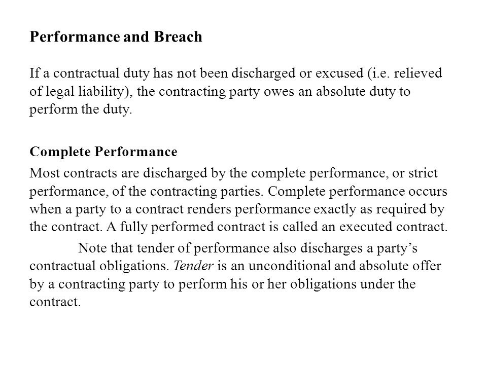 a party who owes a duty of performance under a contract is called the-0