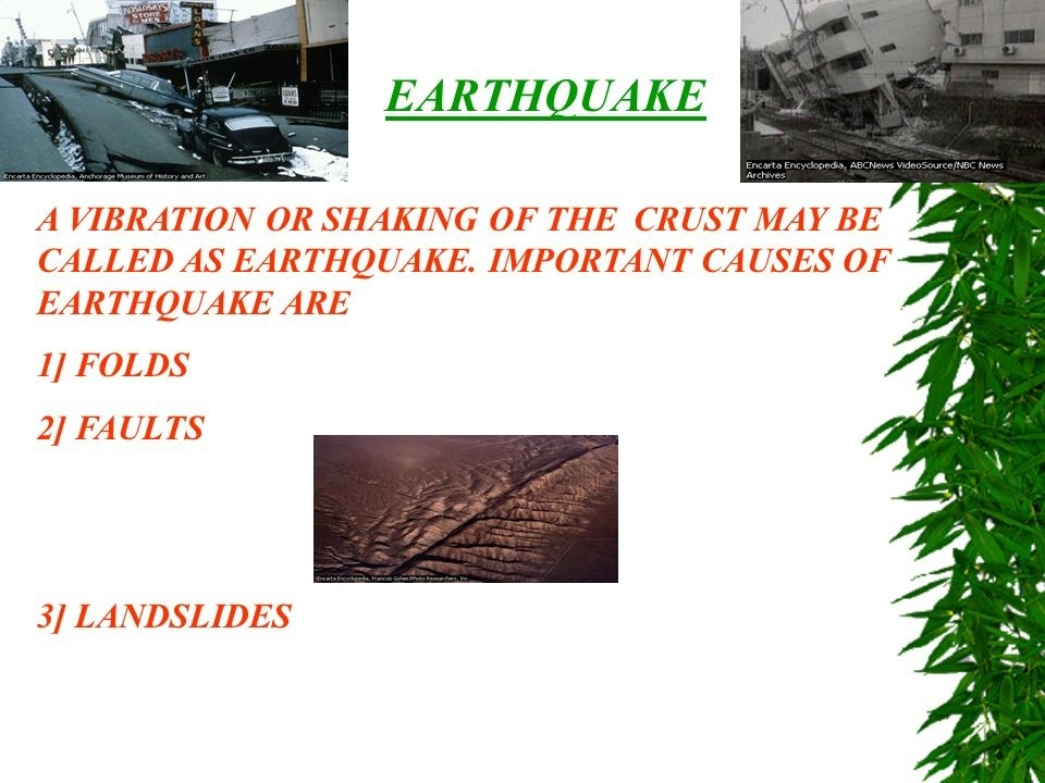 a scientist who studies earthquakes is a _____.-3