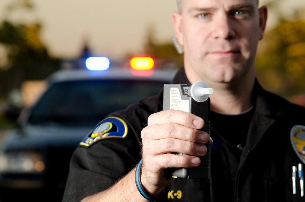 any driver who is stopped by a law enforcement officer and found to have a breath or blood alcohol-0