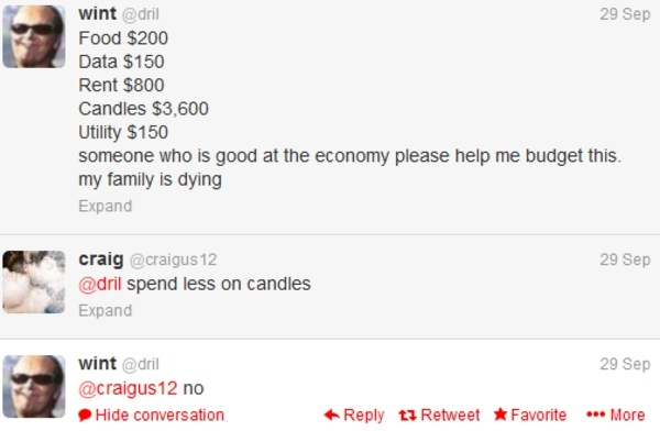 dril someone who is good at the economy-1