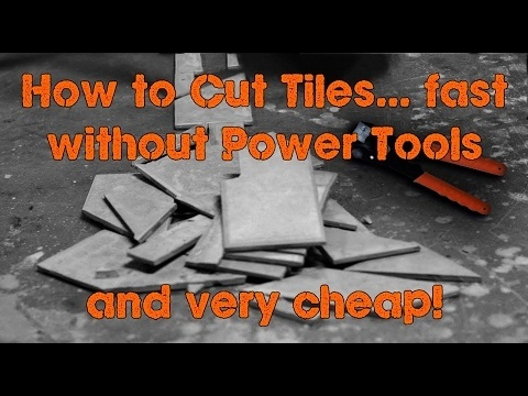 how to cut tile without a wet saw-1