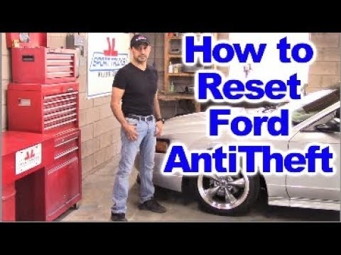 how to disable anti theft system on ford taurus-0