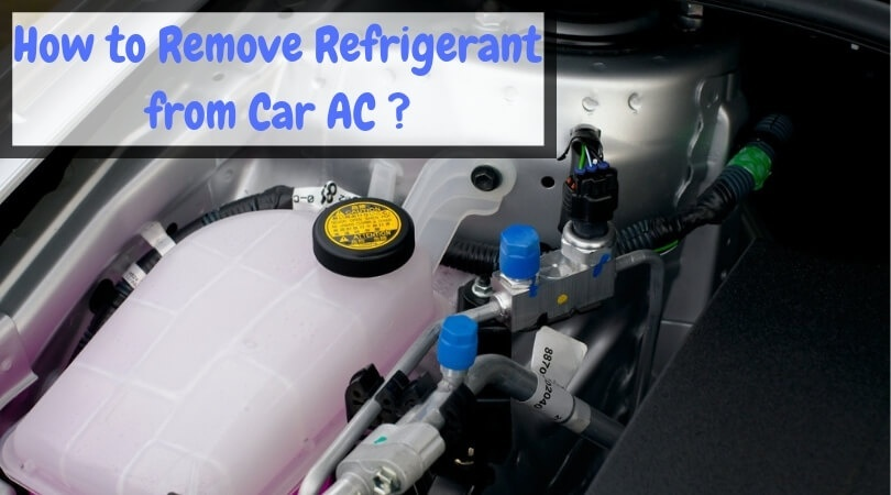 how to discharge car ac at home-1
