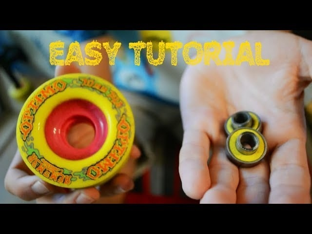 how to get bearings out of skateboard wheels-1