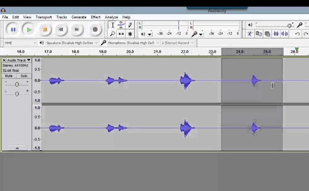 how to get rid of echo in audacity-0
