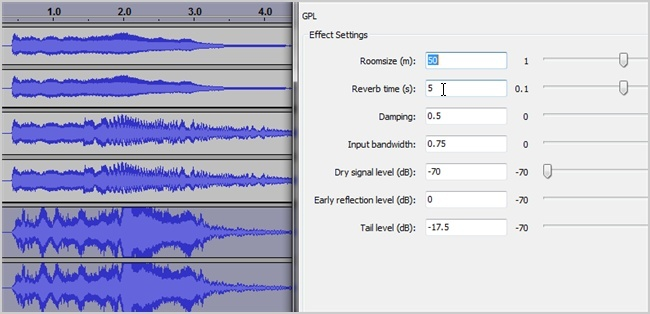 how to get rid of echo in audacity-1