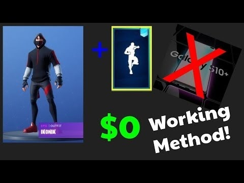 how to get the ikonik skin for free-0