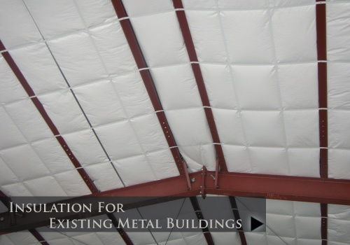 how to insulate an existing metal building-1