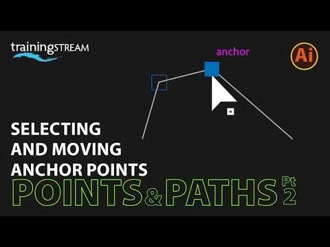 how to move anchor points in illustrator-1