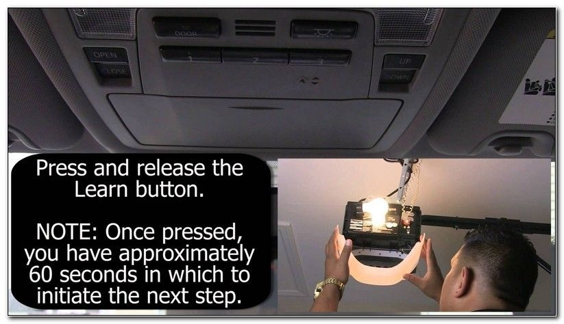 how to program garage door opener in car without remote-3
