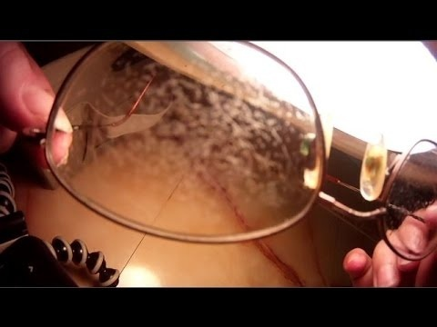 how to remove anti reflective coating from glasses vinegar-0