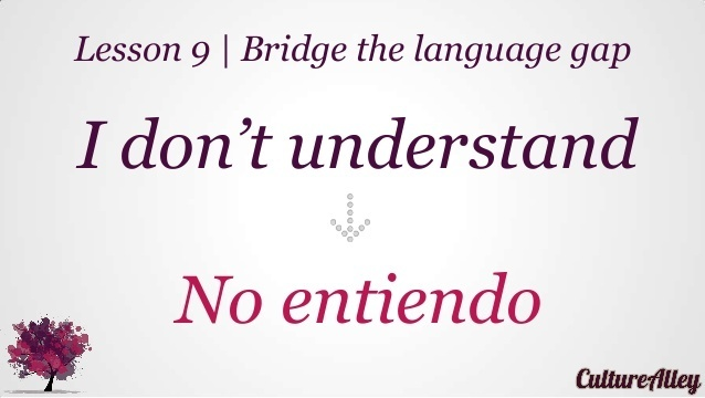 how to say i don t understand in spanish-1