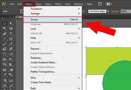 how to select multiple objects in illustrator-1