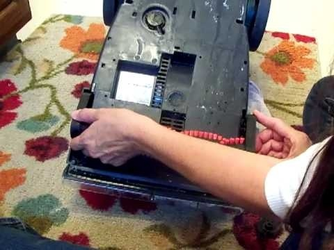 how to take apart a bissell proheat carpet cleaner-2