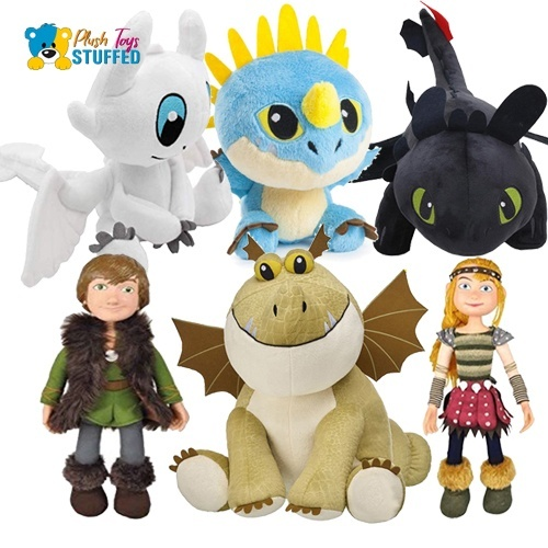 how to train your dragon stuffed animals-1
