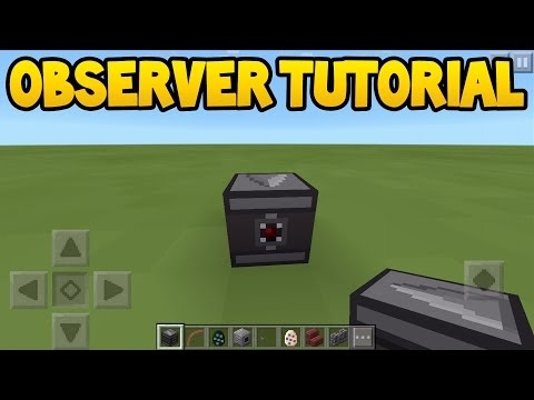 how to use an observer in minecraft-0