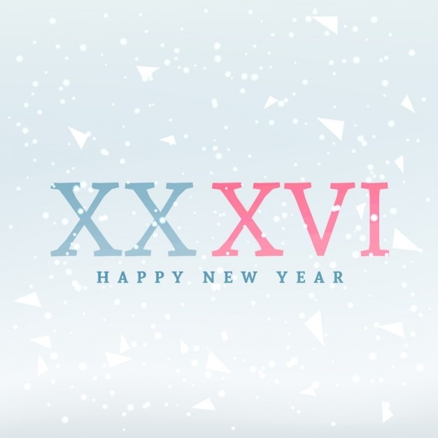 how to write 2016 in roman numerals-1