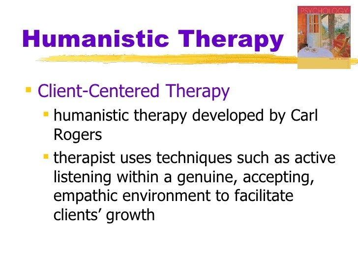 the most prominent figure in humanistic therapy is carl rogers who developed ___________________.-1