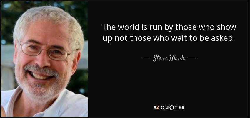 the world is run by those who show up-2