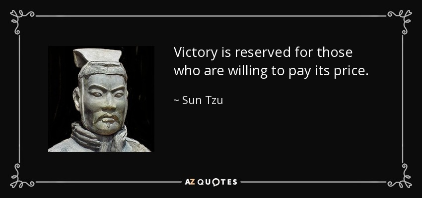 victory is reserved for those who are willing-0