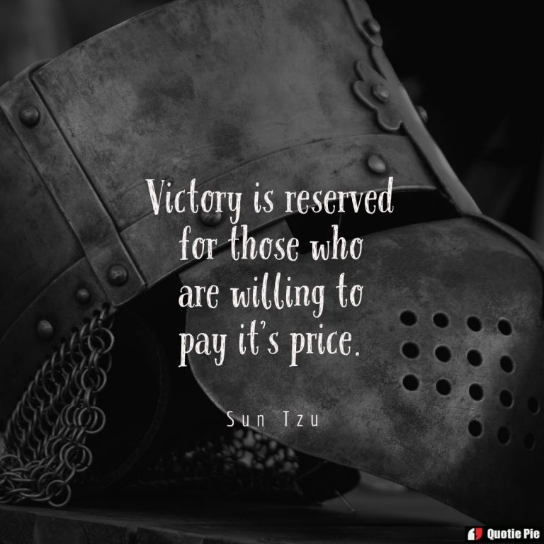 victory is reserved for those who are willing-1