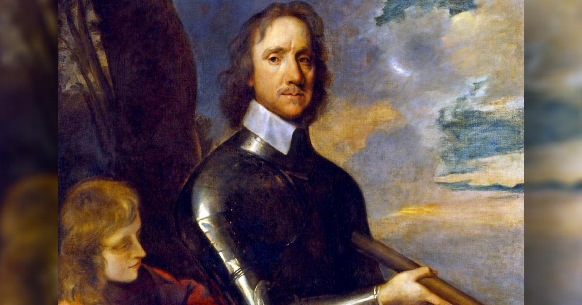 what is the most significant difference between oliver cromwell and the monarchs who preceded him?-2