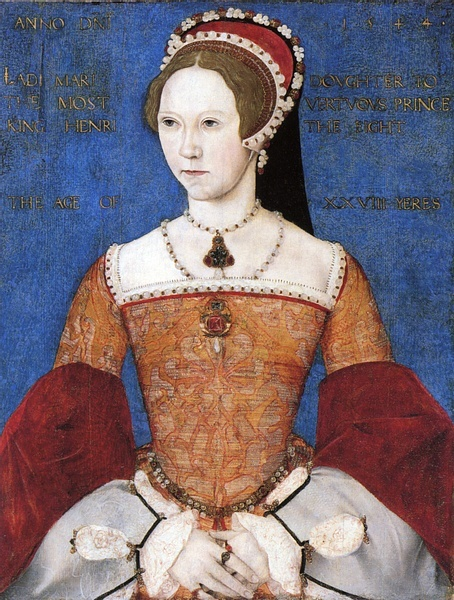 which of the following statements is true of queen mary of england, who reigned from 1553 to 1558?-1