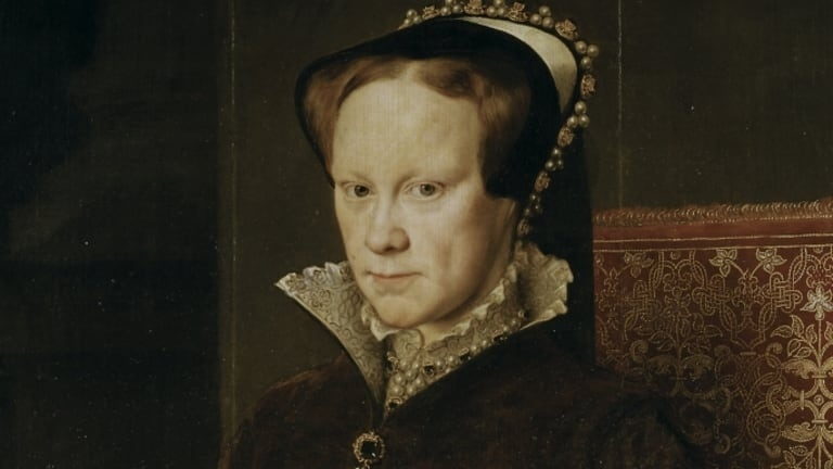 which of the following statements is true of queen mary of england, who reigned from 1553 to 1558?-4