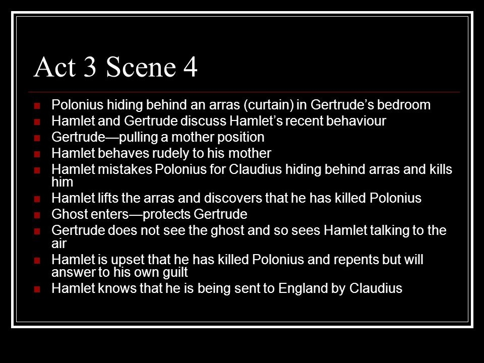 who is killed in act 3 of hamlet-1