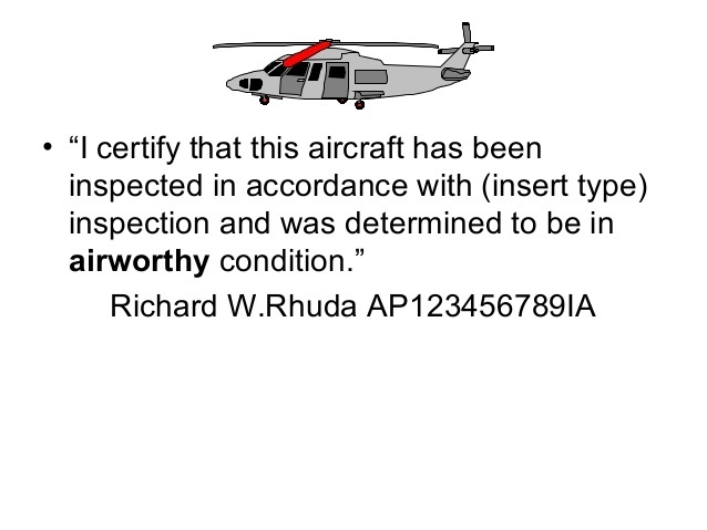 who is primarily responsible for maintaining an aircraft in airworthy condition?-1