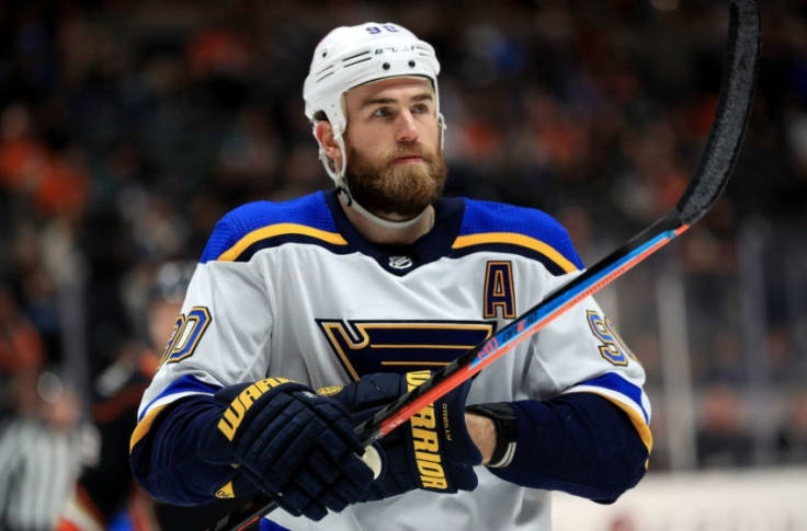 who is the captain of the st louis blues-1