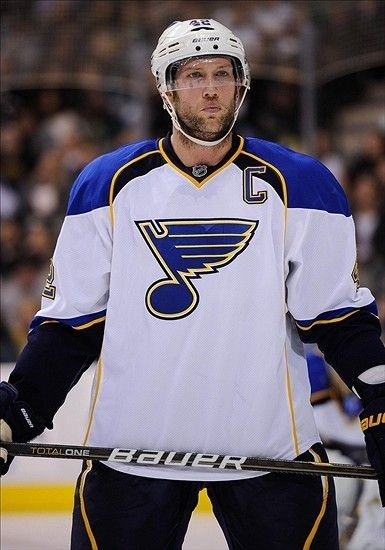 who is the captain of the st louis blues-3