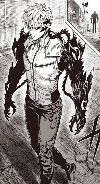 who is the cyborg that killed genos family-3