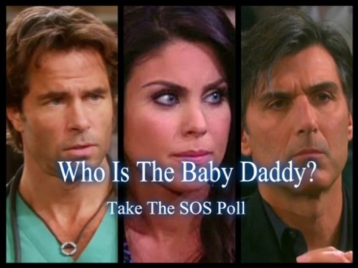who is the father of chloes baby on days-0
