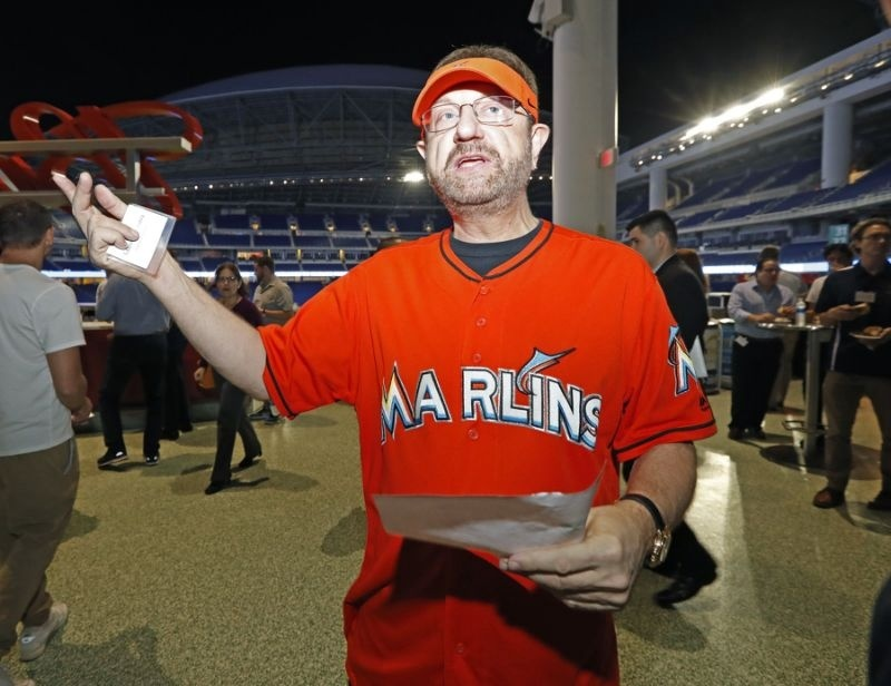 who is the guy in the marlins jersey-2
