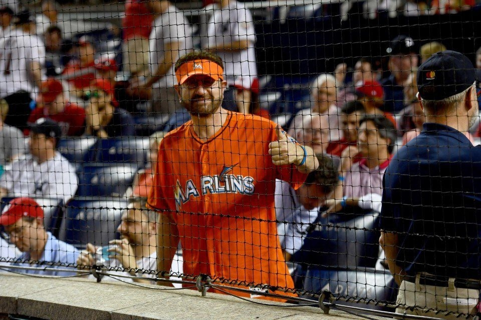 who is the guy in the marlins jersey-3