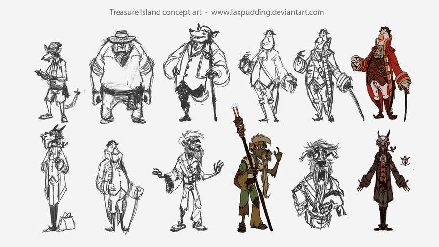 who is the main character in treasure island-2