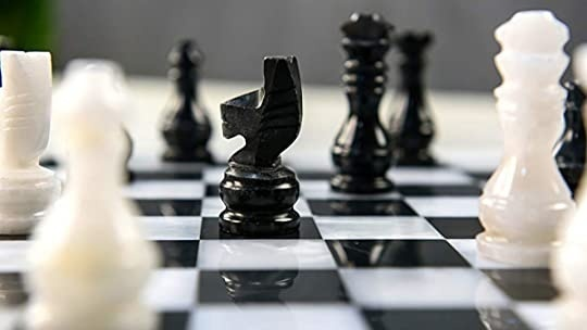 who is the opponent in the narrator's imaginary chess game?-1