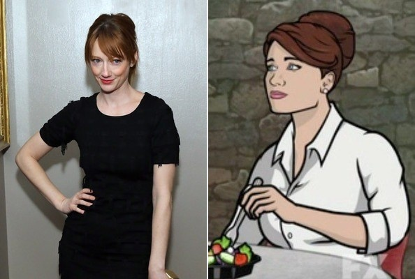 who is the voice of lana on archer-1