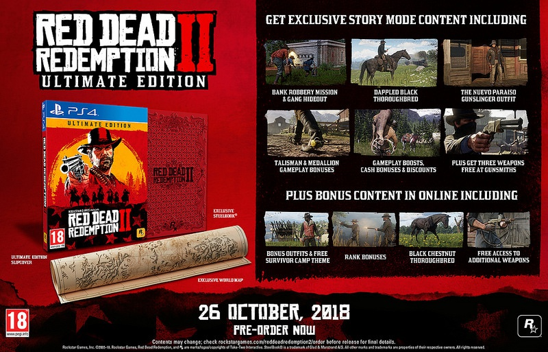 red dead redemption 2 pre order-1