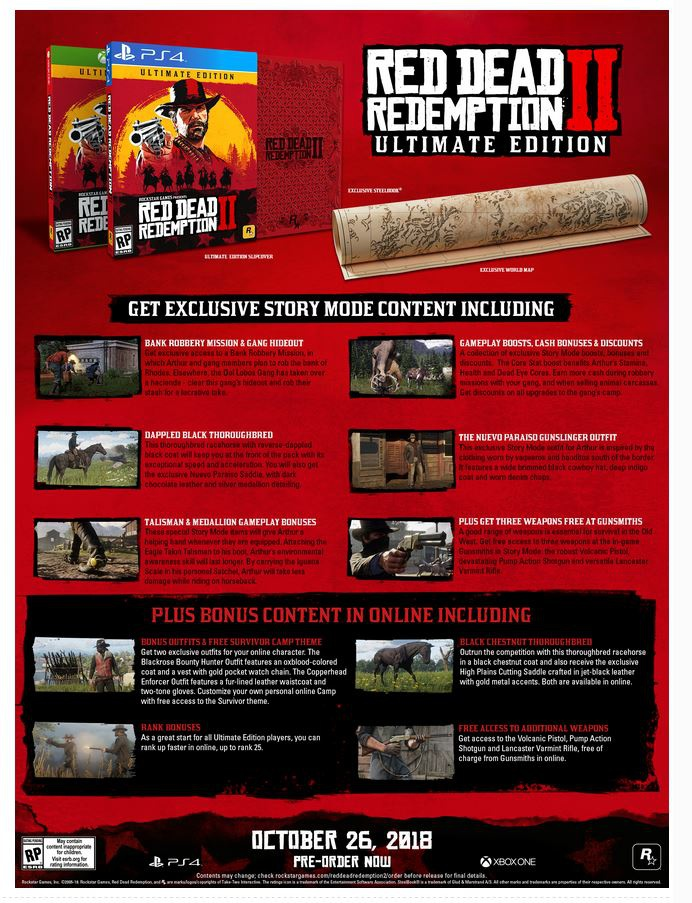 red dead redemption 2 pre order-6