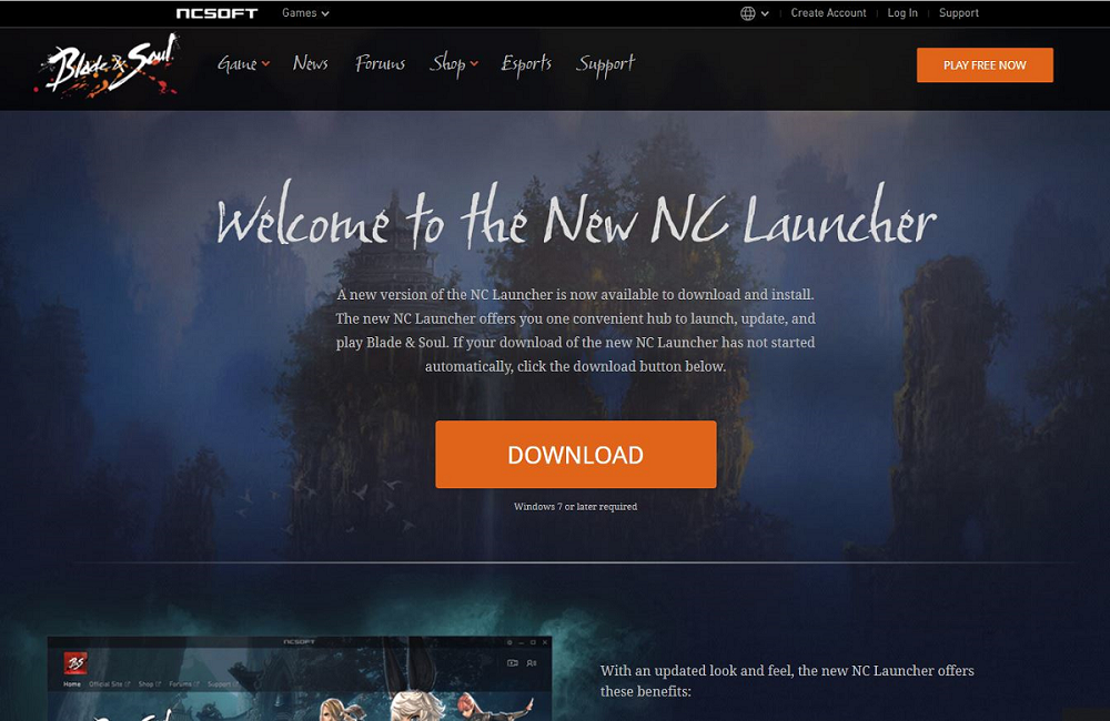 blade and soul launcher-1