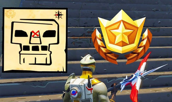 treasure map in greasy grove fortnite-5