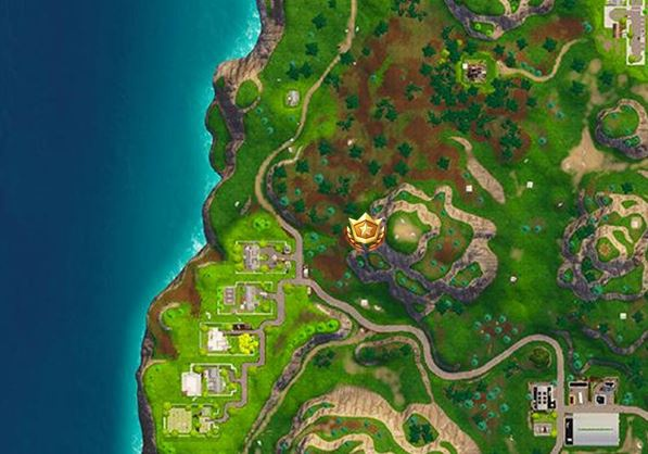 treasure map in greasy grove fortnite-6
