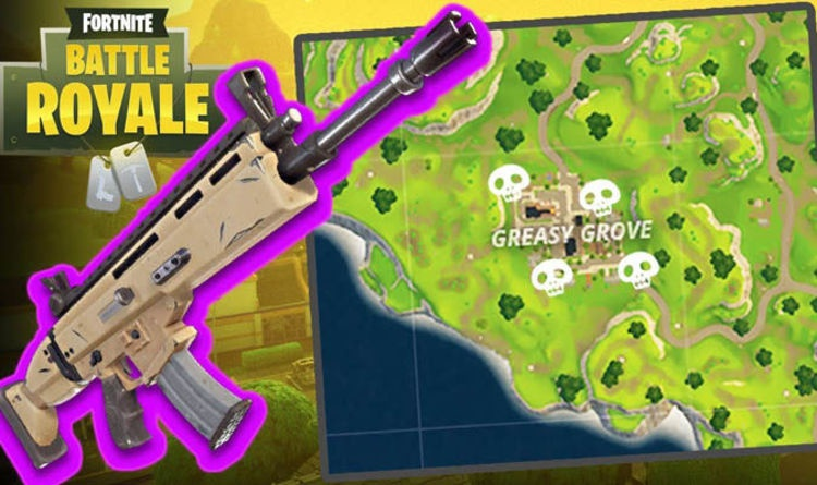 treasure map in greasy grove fortnite-8