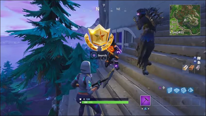 treasure map in greasy grove fortnite-9