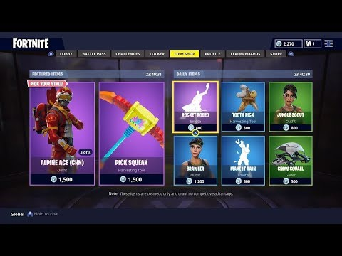 live fortnite item shop-2