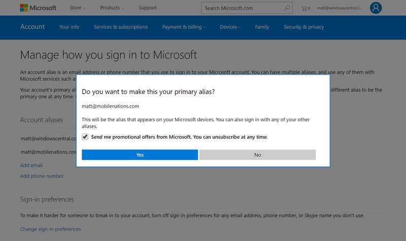how to change xbox email-2